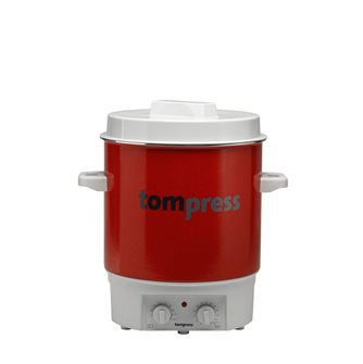 Enamelled electric steriliser with a timer - Tom Press