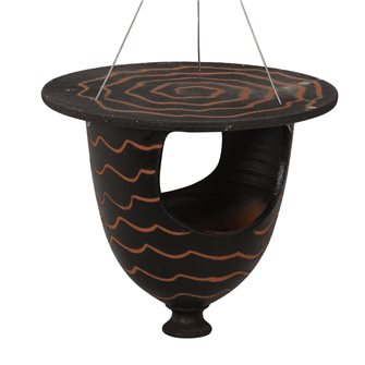 Feeder urn for black birds