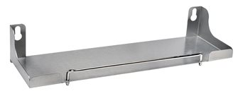 Stainless steel trolley for 60 cm plancha plate
