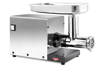 Electric grinder n ° 8 stainless steel pro Reber
