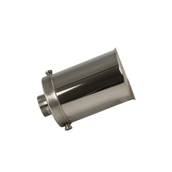 Stainless steel tube for press 3 litres