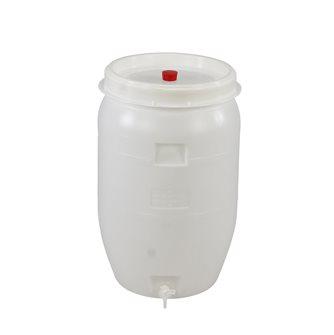 Plastic fermentation vat 120 litres