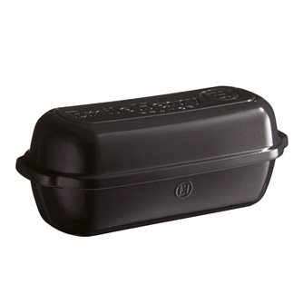 Charcoal ceramic country baking pan Charcoal Emile Henry