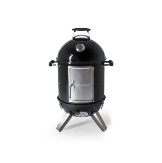 Round lacquered metal smokehouse - llittle model
