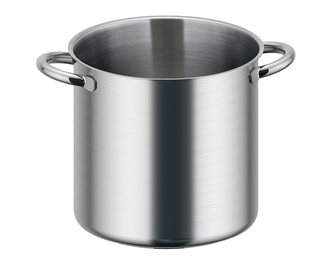 Profetionnal stainless steel induction cooking pot 28 cm 17 liters