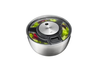 Speedwing Gefu 27 cm stainless steel salad spinner