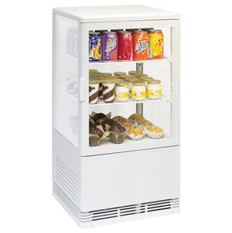 Refrigerated display case 58 l