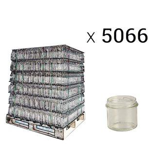 Glass pie pot twist off 90 g. per pallet of 5066
