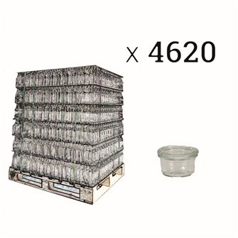 Verrines Weck 50 ml per pallet 4620