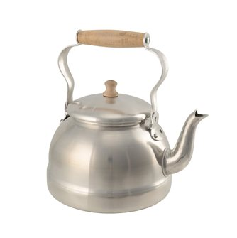 1 liter aluminum TP kettle with wooden handle