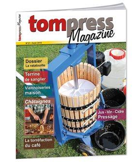 Tom Press Magazine August 2018
