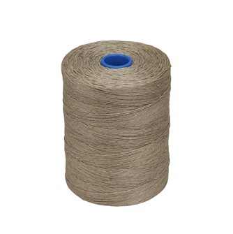 Roll 1kg of twine for deli smooth flax
