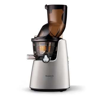 Gray electric juice extractor large opening Kuvings D9900