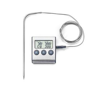 Thermomètre numérique magnétique à sonde de -50° C à 300° C