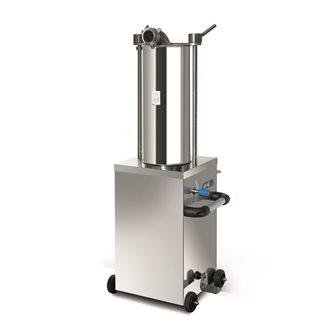 Electric 15 litre vertical meat stuffer