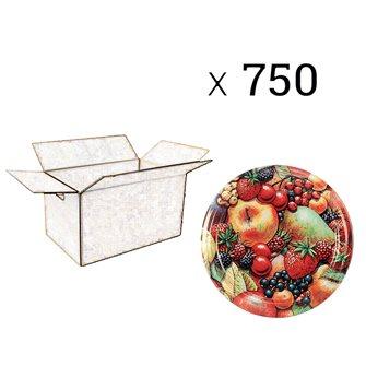 Capsules twist-off jam tutti frutti francia diam 82 by 750