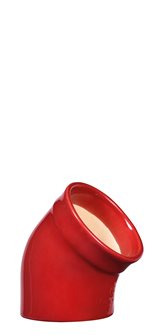 Salt hand in red ceramic Emile Henry Grand Cru