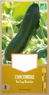Long Maraîcher green cucumber seeds