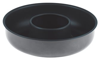 Savarin mold, outlet 24 cm in non-stick Obsidian steel
