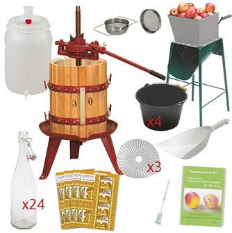 Essentials cider kit with press 30 cm