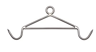 Die-cutting hook Pro 61cm stainless steel frame holder 12 mm