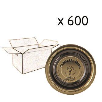 Capsule Familia Wiss 110 mm per carton of 600