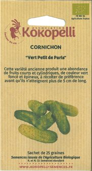 Paris small green pickle seeds