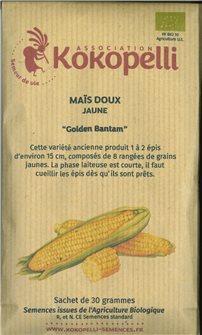 Golden Bantam Corn Seeds