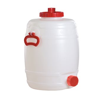 Cylindrical food grade keg - 30 litres